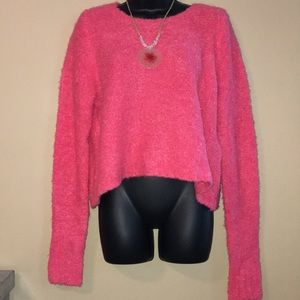 C wonder pink sweater